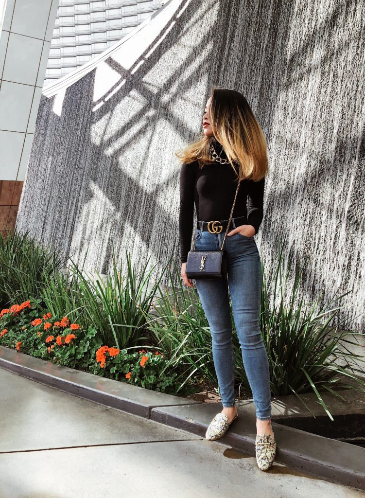 Chic Gucci Belt Outfit